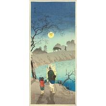 Takahashi Hiroaki: Moon Rising at Nokizaki - Artelino