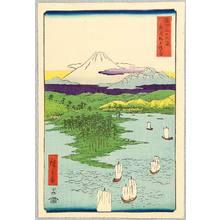 歌川広重: Noge - Thirty-six Views of Mt.Fuji - Artelino