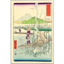 Utagawa Hiroshige: Sagami River - Thirty-six Views of Mt.Fuji - Artelino