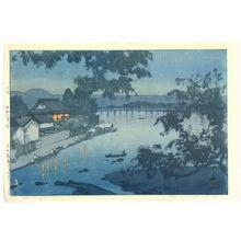 Yoshida Hiroshi: Chikugo River - Artelino