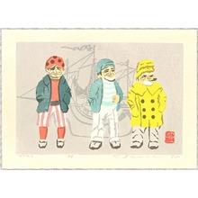 Inoue Toyohisa: Three Matroos - Artelino