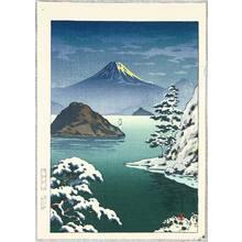 Tsuchiya Koitsu: Mt. Fuji from Mitsu Beach - Artelino