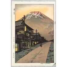 Kasamatsu Shiro: Mt. Fuji from Yoshida - Artelino