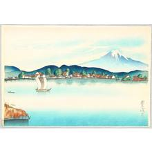 Yamamura Toyonari: View of Fuji from Izu - Artelino