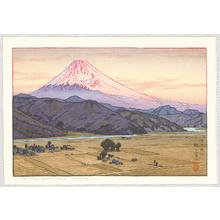 Yoshida Toshi: Mt. Fuji from Ohito, Morning - Artelino