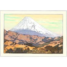 Yoshida Toshi: Mt. Fuji from Nagaoka, Cloud - Artelino