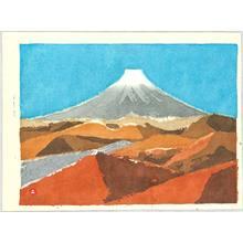 Azechi Umetaro: Mt. Fuji - 3 - Artelino