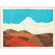 Azechi Umetaro: Mt. Fuji - 1 - Artelino