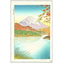 Okada Koichi: Mt.Fuji and Lake Ashi - Artelino