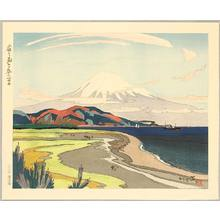 石川寅治: Mt.Fuji from Miho in Spring - Artelino