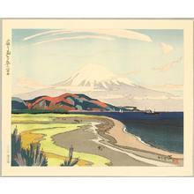 石川寅治: Mt.Fuji from Miho in Spring - Artelino