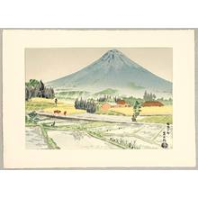 徳力富吉郎: Mt.Fuji and Susono in Rain - Artelino