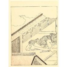 西川祐信: Lady Murasaki - Artelino