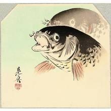 Shibata Zeshin: Carp - Artelino