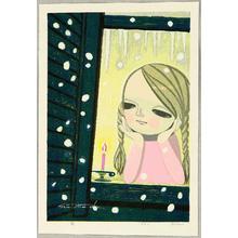 Ikeda Shuzo: Girl and Snow - Artelino
