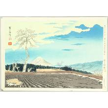 Tokuriki Tomikichiro: Mt Fuji from Fujimi Hights - Thirty-six Views of Mt. Fuji - Artelino