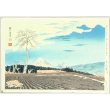 Tokuriki Tomikichiro: Mt Fuji from Fujimi Hights - Thirty-six Views of Mt. Fuji - Artelino