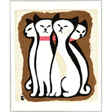 Inagaki Tomoo: Four Cats - Artelino