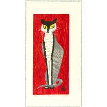 Inoue Toyohisa: Cat in Tuxedo - Artelino