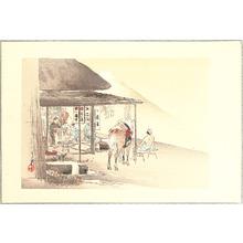 Ogata Gekko: One Hundred Fuji: Tea House - Artelino