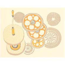 Kamei Tobei: Gear Wheels - Kaleidoscope II - Artelino