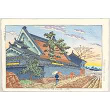 Fujishima Takeji: Twilight in The Village - Nara - Artelino