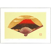 Kaneko Kunio: Red Mt.Fuji - Sensu 8 - Artelino