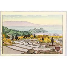 Yoshida Toshi: Rice Field in Suizu - Artelino