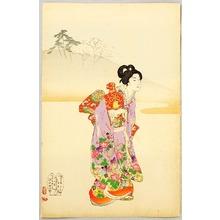 豊原周延: Palanquin - Ladies of Chiyoda Palace - Artelino