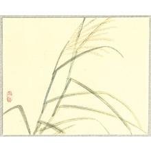 幸野楳嶺: Japanese Pampas Grass - Artelino