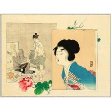 Tomioka Eisen: Morning Glories - Artelino