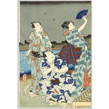 Utagawa Kunisada: Firefly Hunting - Artelino