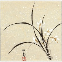 Takeuchi Seiho: Orchid - Artelino