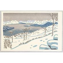 Fujishima Takeji: Kucharo Lake - Artelino