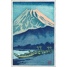 笠松紫浪: Mt. Fuji in Evening Glow - Artelino