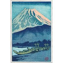 Kasamatsu Shiro: Mt. Fuji in Evening Glow - Artelino
