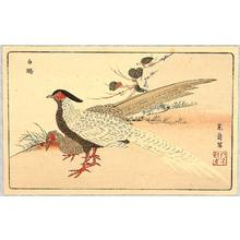 Kitao Masayoshi: Two Exotic Birds - Artelino