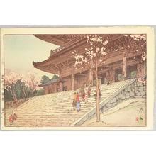 吉田博: Chion-in Temple - Artelino
