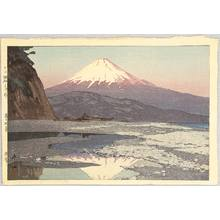 吉田博: Mt. Fuji from Okitsu - Artelino