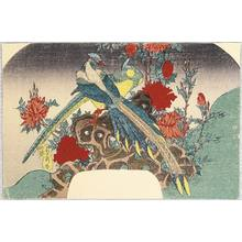 Utagawa Sadahide: Bird and Flowers - Artelino