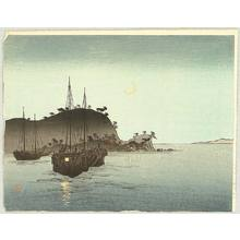 Arai Yoshimune: Boats in the Evening - Artelino
