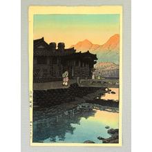 川瀬巴水: Kaesong - Korea - Artelino