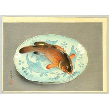 Ono Bakufu: Red Fish on Platter - Artelino