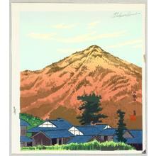 Tokuriki Tomikichiro: Mt. Hiei - Miyako Meisho - Artelino