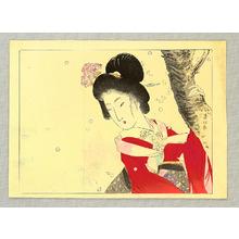 Suzuki Kason: Beauty and Cherry Blossoms - Artelino