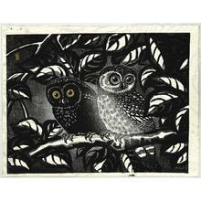 Tokuriki Tomikichiro: Owls - Artelino
