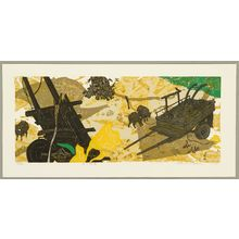 Kitaoka Fumio: Flower and Cart - Artelino