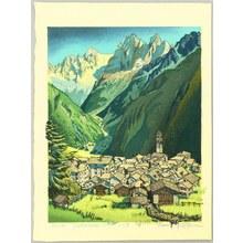 Morozumi Osamu: A Quiet Village (Soglio) - Artelino