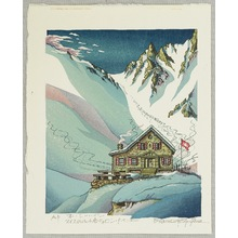両角修: Cabane-du-Mont-Fort - Switzerland - Artelino