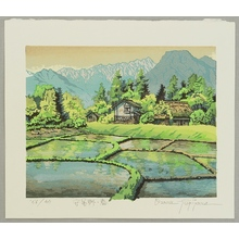 Morozumi Osamu: Spring in Azumino Village - Japan - Artelino